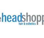 Logo for the Headshoppe, located at 644-646 Portland Street