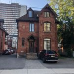 A red brick office building located at 427 Gilmour Street